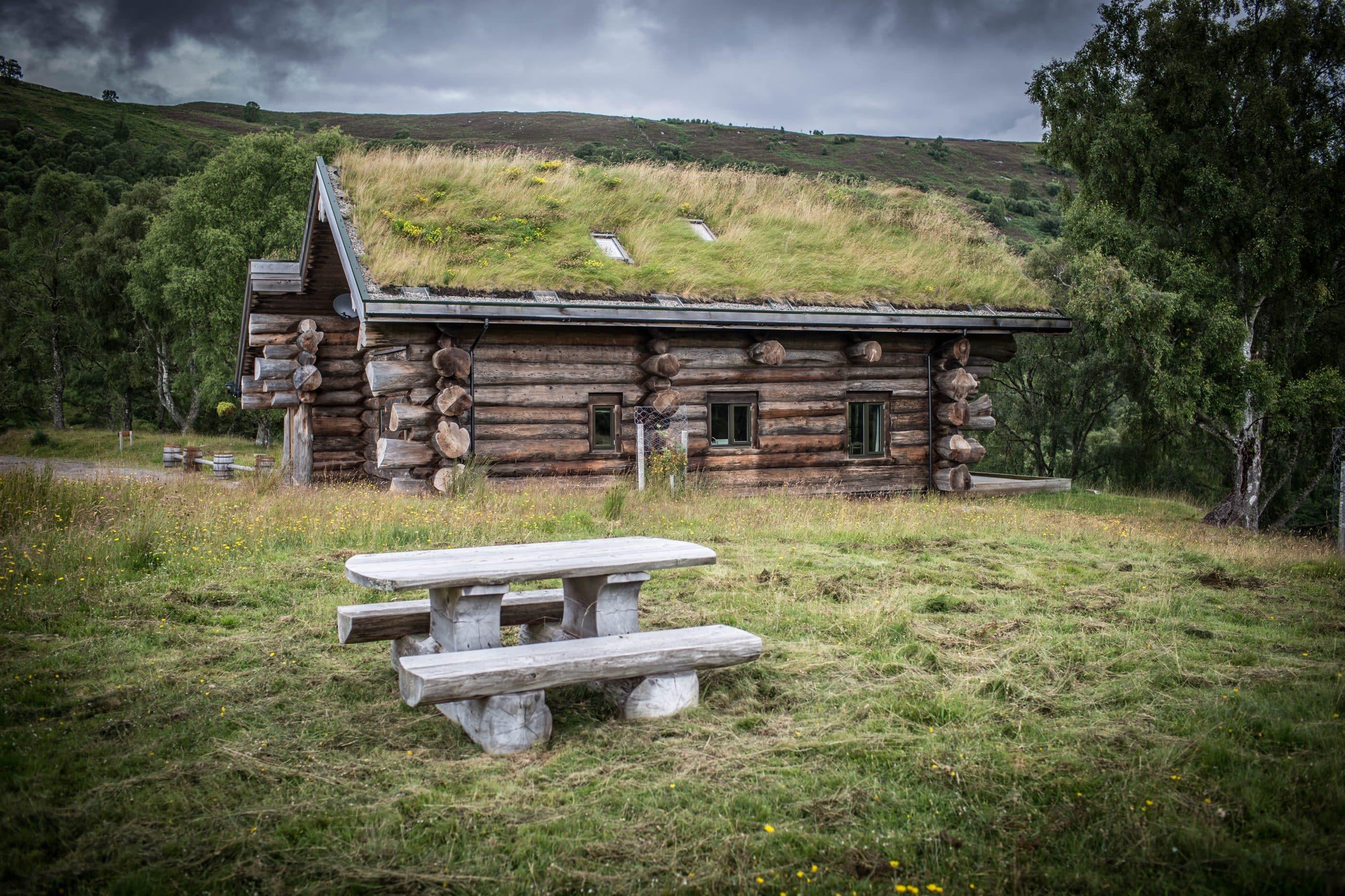 Log cabin at Eagle Brae