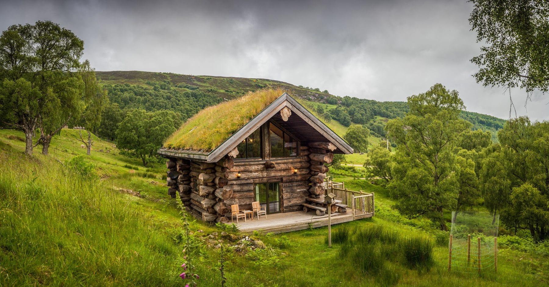 Strix | Our Romantic Scottish Log Cabin | Eagle Brae